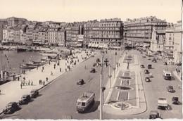 CPA - MARSEILLE - 616. LE QUAI DES BELGES ET LA RUE DE LA REPUBLIQUE - Vieux Port, Saint Victor, Le Panier
