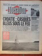 Journal Libération (26 Janv 1993) Croatie - Fichiers Juifs - Mis Et Thiennot - Environnement - Zeitungen