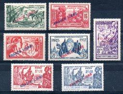 INDE - YT N° 152 à 158 - Neufs * - MH - Cote: 39,90 € - India (1892-1954)