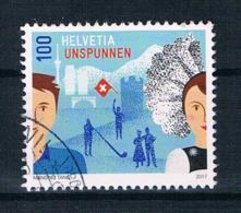 Schweiz 2017 Einzelmarke Gestempelt - Schweiz