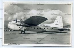 Dan Air London Airways Bristol Type 170 Wayfarer Airline Issue Postcard G-AMLL - 1946-....: Era Moderna