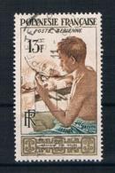 Französich-Polynesien 1958 Mi.Nr. 10 Gestempelt - Französisch-Polynesien