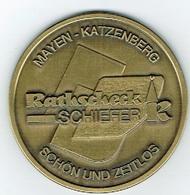 Mayen-Katzenberg Ratkscheck Schiefer.10 Jaher - Entriegelungschips Und Medaillen