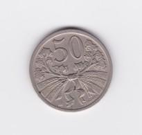 50 Haleru Tchécoslovaquie 1927  TTB - Tchécoslovaquie