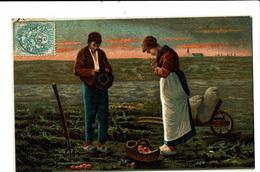 CPA - Carte Postale-FRANCE -L'angélus De Milet -VM4593 - Schilderijen