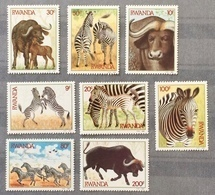 Rwanda 1984; Fauna, Wild Animals; MNH** VF!! CV 16 Euro!! - Stamps