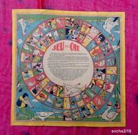 Ancien Jeu De L'Oie  - Papier - 31 X 31 Cm - Jeux De Société