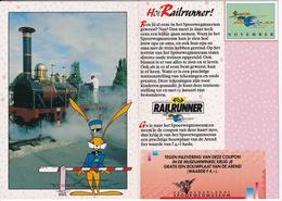 RAILRUNNER - N.V. Nederlandse Spoorwegen - (1990/1991) - De Arend Stoomlok - Nederlands Spoorwegmuseum, Utrecht) - Andere
