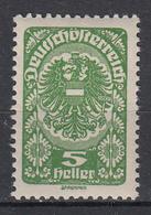 OOSTENRIJK - Michel - 1920 - Nr 256 - MNH** - 1918-1945 1ère République