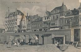CPA - Belgique - Middelkerke - La Plage Et La Digue - Middelkerke