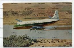 Iraqi Airways Vickers Viscount Airline Issue Postcard Iraq 1950s-60s - 1946-....: Era Moderna