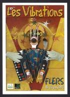 CPM. Carte à Pub.  Les Vibrations.   Flers 2002.   Musique. - Musique Et Musiciens
