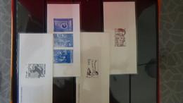Album De 64 Imprimeries Des Timbres Postes Et Autres Blocs **. A Saisir  !!! - Postzegels
