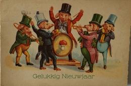 Varkens - Pig - Piglets // Gelukkig Nieuwjaar (music) 19??) - Varkens