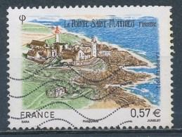 France - La Pointe St-Mathieu YT 4679 Obl. Ondulations - Oblitérés