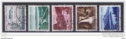 SVIZZERA:  1954  PRO  PATRIA  -  S. CPL  5  VAL. US. -  YV/TELL. 548/52 - Pro Patria