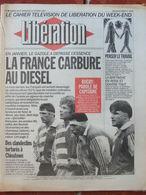 Journal Libération (20/21 Fév 1993) Vente Voiture Diesel - Penser Le Travail - Avant Irlande-France - M Jackson - Zeitungen