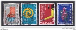 SVIZZERA:  1961  PROPAGANDA  -  S. CPL. 4  VAL. US. -  YV/TELL. 673/76 - Suisse