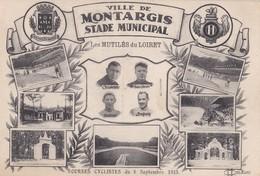 Montargis : Ville De Montargis Stade Municipal - Les Mutilés Du Loiret - Courses Cyclistes Du 6 Septembre 1925 - Montargis