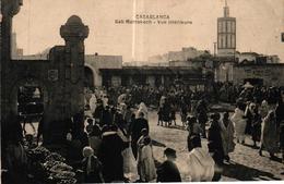 MAROC - CASABLANCA BAB MARRAKECH VUE INTERIEURE - Casablanca