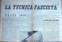 N° 87 - TECNICA FASCISTA - 15 SETTEMBRE 1935 - Libri, Riviste, Fumetti
