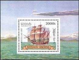 206 - Laos 1997  BF 141 ; Block 164 **  MNH  Bateaux, Old Sailing Ships - Laos