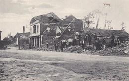 LIEVIN - VIMY - PAS-DE-CALAIS - CPA ANIMEE - FELDPOST DE 1916 - BEL AFFRANCHISSEMENT POSTAL - France