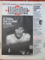 Journal Libération (23 Fév 1993) Ex-Yougoslavie  Tribunal Contre Crimes De Guerre - La Presse Verte - Bombay - Zeitungen