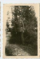 Homme Man Militaire à Situer Identifier Portrait Uniforme - Guerre, Militaire