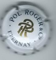 POL ROGER & Cie  Non Répertorié LambertTome 1 320/10  Blanc , PR Or, Verso Métal - Pol Roger