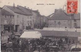 MATOUR (71) - Marché - Sans éditeur - 1912 - Altri Comuni