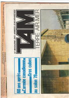 TAM - Journal Terre Air Mer - 3 Numéros 1974 1978 1979 (n°272 362 381) - Liban Parachutiste Marine Musique - Tijdschriften & Kranten
