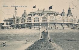 CPA - Belgique - Oostende - Ostende - Le Kursaal Vu De La Mer - Oostende