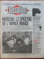 Journal Libération (24 Fév 1993) Le Spectre De L'armée Rouge - Mineurs Incarcérés - Chevauchée Du Bison - Zeitungen