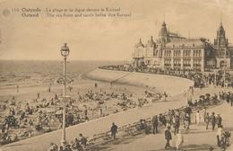 CPA - Belgique - Oostende - Ostende - La Plage Et La Digue - Oostende