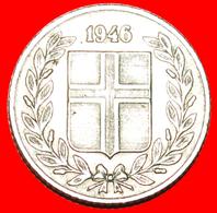 + GREAT BRITAIN BIRCH (1946-1967): ICELAND ★ 25 ORE 1946! LOW START ★ NO RESERVE! - Islandia
