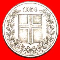 + GREAT BRITAIN BIRCH (1946-1967): ICELAND ★ 25 ORE 1954! LOW START ★ NO RESERVE! - Islandia