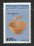 DJIBOUTI - N°719 TB ** (1997) Objet Traditionnel : La Jatte - Djibouti (1977-...)