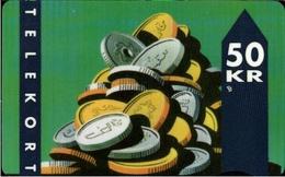 ! Telefonkarte, Telekort, Phonecard, 1994 Dänemark, Danmark, Denmark - Danemark