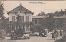 Luxembourg  Mondorf Les Bains Par Charles Bernhoeft  Sieste Devant L'etablissement - Mondorf-les-Bains
