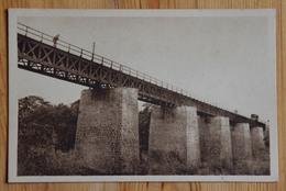 Ouémé  - Pont Du Chemin De Fer - Animée : Petite Animation - Bénin / Dahomey - (n°15319) - Benin