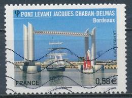 France - Pont Chaban-Delmas Bordeaux YT 4734 Obl. Ondulations - Oblitérés