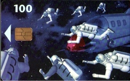! Telefonkarte, Telekort 100 Kronen, Phonecard, 1998 Dänemark, Danmark, Denmark, Raumfahrt - Denmark