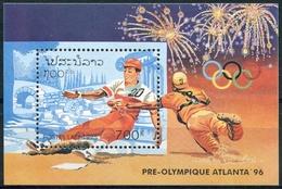 174-  Laos 1995  BF 130 ; Block 153 **  MNH  Summer Olympics, Atlanta (I) - Laos