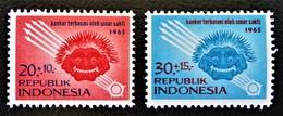 LUTTE CONTRE LE CANCER 1965 - NEUFS ** - YT 425/26 - MI 488/89 - Indonésie