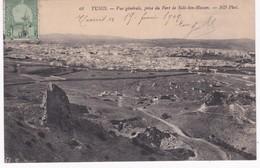 Tunisie -  TUNIS -  Vue Générale Prise Du Fort De Sidi-ben-Hassen - 1909 - Tunisie