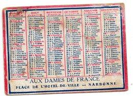 11 - NARBONNE 1916  Aux Dames De France - Tamaño Pequeño : 1901-20