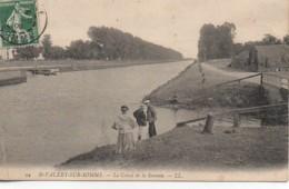 80 St-VALERY-sur-SOMME  Le Canal De La Somme - Saint Valery Sur Somme