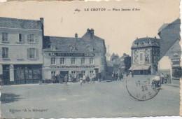 80 LE CROTOY  PLace Jeanne D'Arc - Le Crotoy