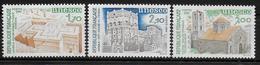 FRANCE   N° 79/81  * *   ( Cote 3.60e ) Unesco - Neufs